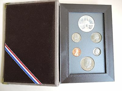 1984 Usa - ** Uncirculated Condition ** 6 Coin Boxed Set