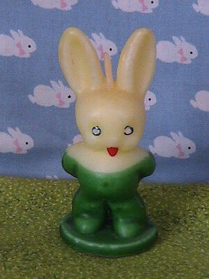 """Gurley Candle, 3"""" Standing Bunny, VG+ Cond.."""