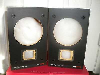 Boston Acoustics A40 Speaker Cabinet 6 Inches Hole ( 1 Pair )  In Great Shape!