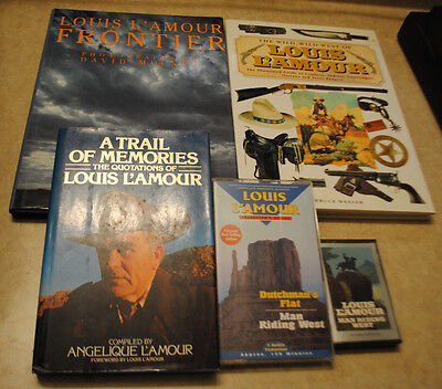 Lot of Louis L'Amour Items