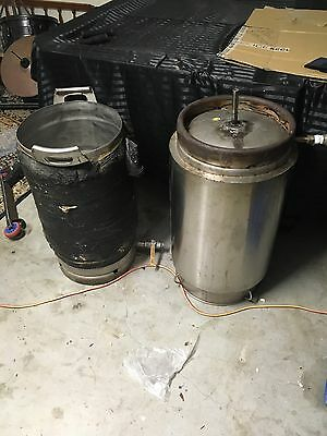 2 X Stainless Steel Home Brew Boilers Home Brew Beer