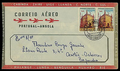Angola   Airmail Covers x 3