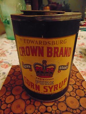 Edwardsburg Crown Brand Pure Corn Syrup 5 Lbs Paper Level