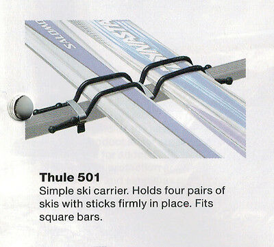 SKI CLIPS hold 4 Pairs of Skies -Suits 30x20 Euro Bar ONLY $29 SET -BRAND NEW