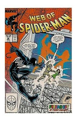 Web of Spider-Man #36 (Mar 1988) 1st Tombstone Avengers Marvel