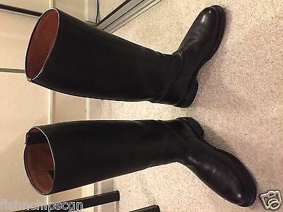 Dutch Knee-High Police Riding Boots