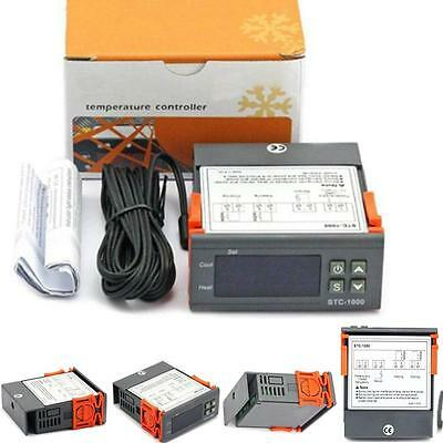 Digital STC-1000 All-Purpose Temperature Controller Thermostat With Sensor A^^
