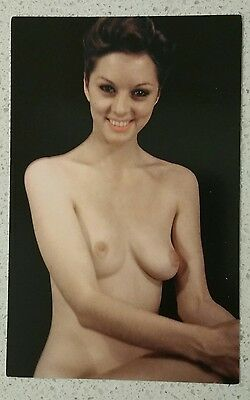 RISQUE CLASSIC NUDE PINUP GIRL Postcard #239
