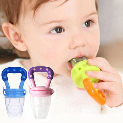 Baby Pacifier Infant Fresh Food Baby Supplies Safe Nibbler Feeder Feeding Tool ^
