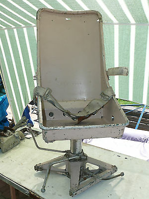 Military aircraft Aircrew seat by Weber Aircraft Corporation
