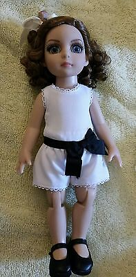"Tonner Patsy Doll ""Perfect Impressions"" + 6 outfits, 2 pair shoes, 2 stockings"