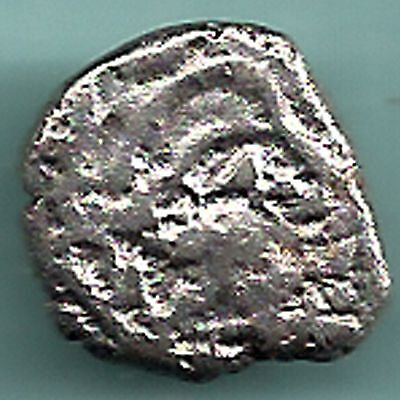 Ancient India - Western Kshatrap - Kings Potrate - Rarest Silver Coin