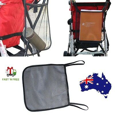 Baby Stroller Organiser Carrying Bag Accessories Buggy Mesh Net toys Storage Bag
