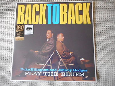 DUKE ELLINGTON and JOHNNY HODGES Play The Blues  LP 2010 MINT Sealed 180gram NEW