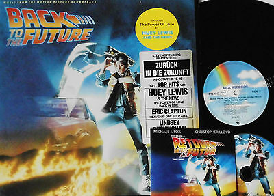 Back To The Future, Music From The Motion Picture, Vinyl EX | LP Germany 1985