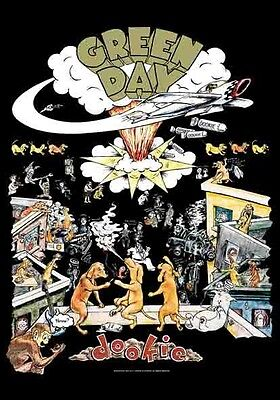 Green day Dookie Textile Poster Flag