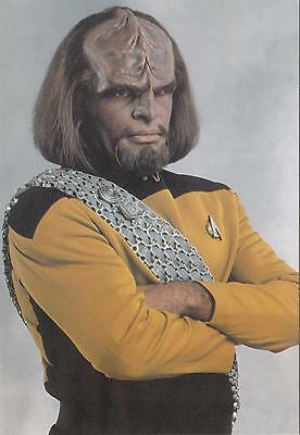 Star Trek TNG The Next Generation 1992 Worf #2 postcard 105-187