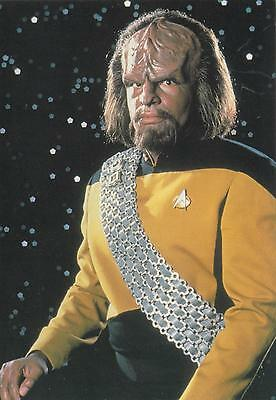 Star Trek TNG The Next Generation 1991 Worf #1 postcard 105-153