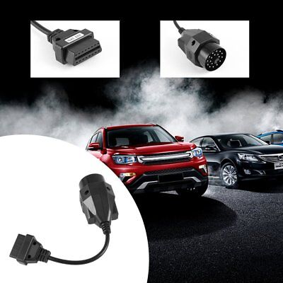 NEW 20 Pin to OBD2 OBD 2 Female 16Pin Connector Adapter Cable for BMW A^^