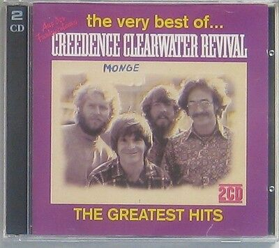The Very Best of creedence Clearwater Revival 2 CD