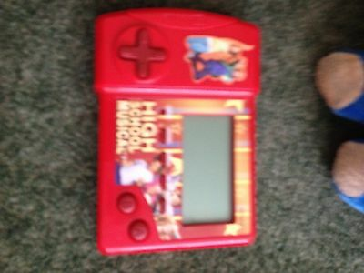 high school musical game square hand held with buttons on