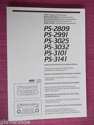 Suzuki Grand Vitara Radio / Cd / Audio Owners Manual - Handbook. (Bjl 89+)