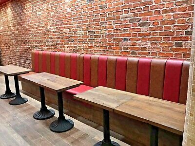 Bespoke Commercial Seating, Booth Seating, Banquet, Bench Seating (£80 Per Foot)