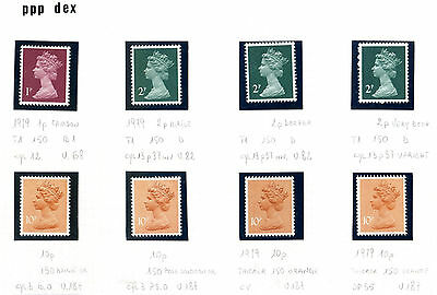 GB  specialized PPP.DEX 8v  MNH