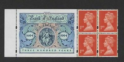 UC001 GB st Or x 4 + Bank of England Label++++++++++