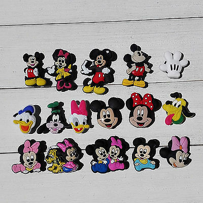 Mickey Minnie PVC shoe charms for croc/wristband,Shoe Ornament,shoe decorate