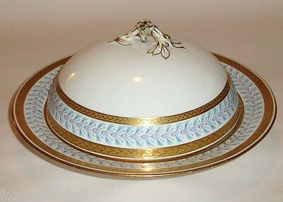 A Beautiful Vintage Minton Porcelain Cover Dish/muffin Dish