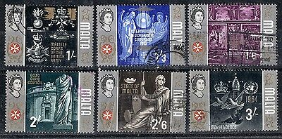 Malta.  1965 Definitive Issue.  SG340-345.  Used.