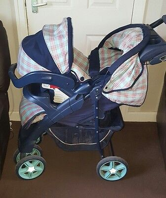 Mothercare Albany Plus Travel System- Pram & Car Seat