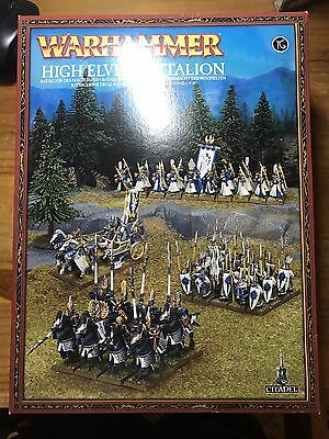 Massive WARHAMMER Age of Sigmar HIGH ELF Army Set 2 OOP Rare