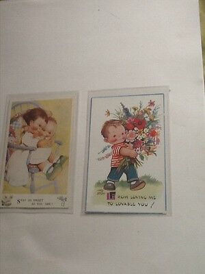 Mabel Lucie Attwell cards etc