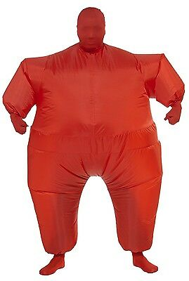 Inflatable Red Costume Body Suit - Missing One Glove