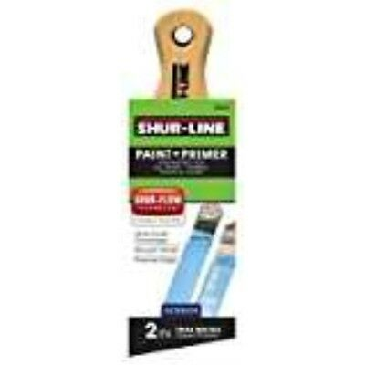 Shur-Line 2002029 Short Handle Exterior Angle Trim Paintbrush, 2-Inch