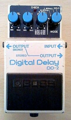 Vintage Boss Roland DD-2 Digital Delay Echo Pedal Made in Japan MIJ 1984