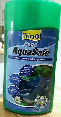 TETRA POND AQUASAFE makes tap water safe for pond fish 1000ml/1litre