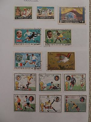 Fujeira collection of 44 stamps