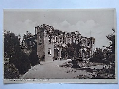 Cyprus Postcard,The Agricultural Department,Nicosia,1934