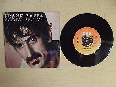 "Frank Zappa, 7"" Single: Bobby Brown / Stick It Out.spain 1980Vg/ex-"