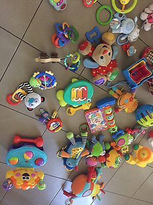 Assorted Fisher price And Other baby/toddler toys, 20+ assorted items all in VGC