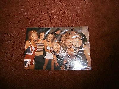 1 reproduced photo of the spice girls with Gary Barlow
