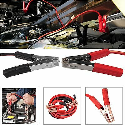 Heavy Duty Battery Jump Start Leads Cable 1000amp 6m Long Jumplead Car Van Boost