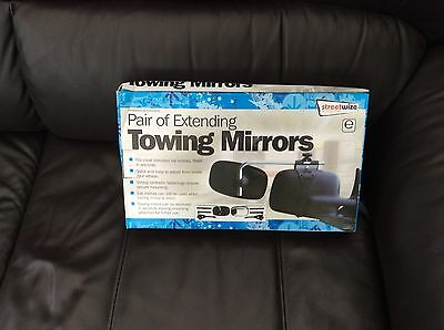 Car Extending Towing Mirrors