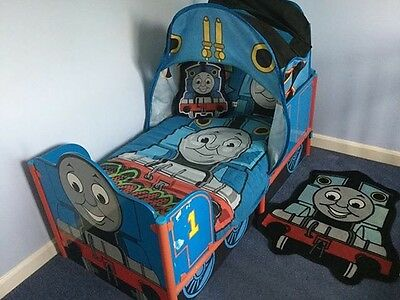 Thomas Toddler Bed With Bedding And Accessories