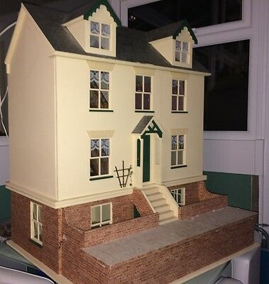 Victorian Dolls House & Basement and furniture to fill it all!