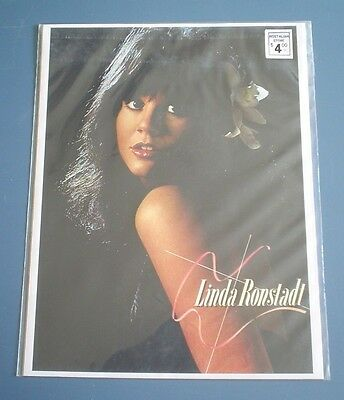 "LINDA RONSTADT PROMOTIONAL PHOTO 8"" x 10"" FULL IMAGE CONCERT PHOTO"