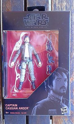 "Star Wars Capatin Cassian Andor 3.75"" Black Series"